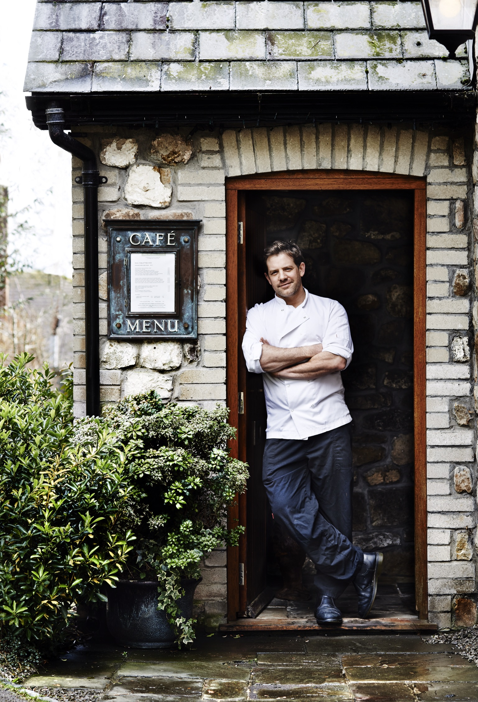 matt tebutt door way