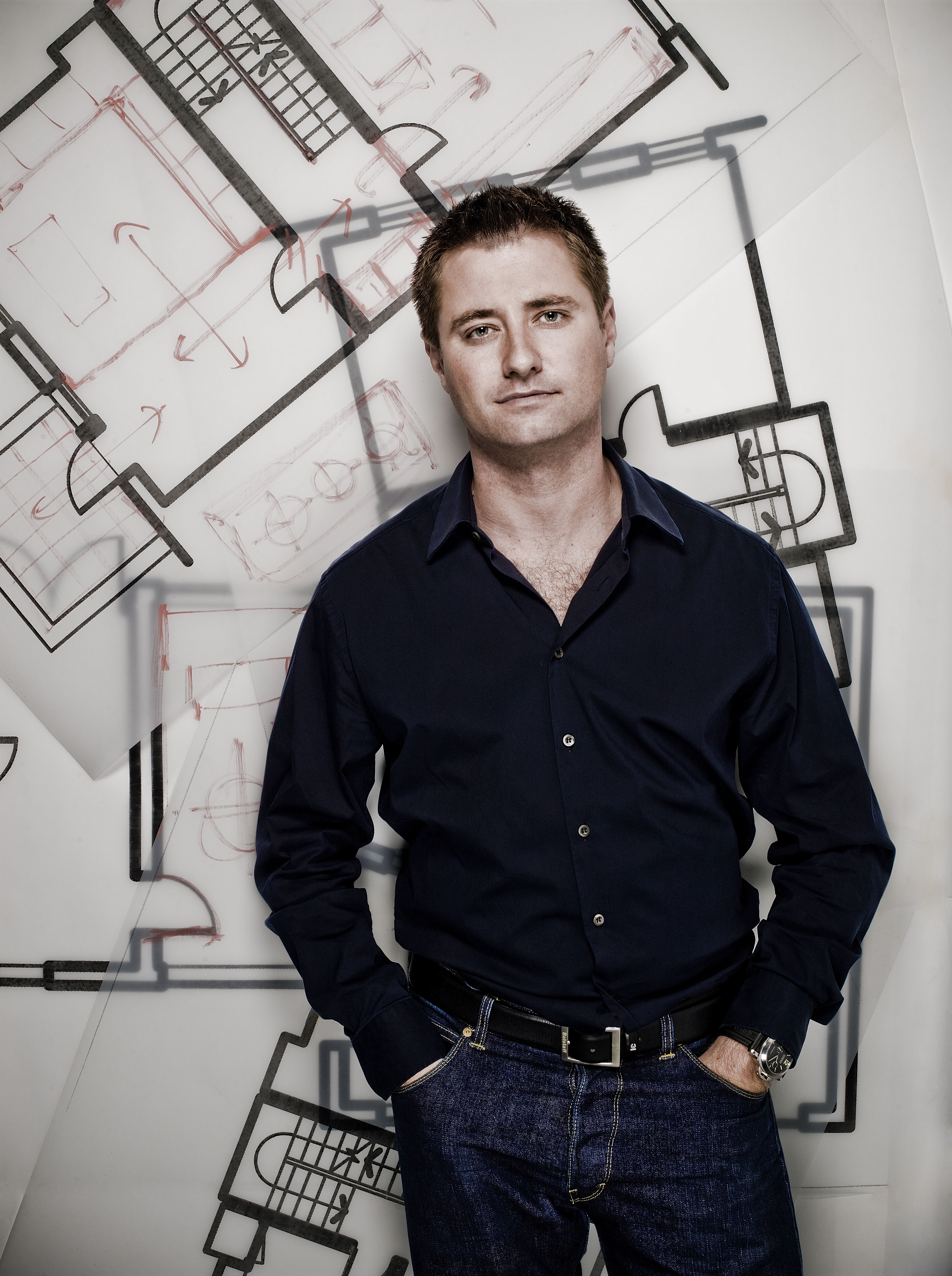 Picture shows George Clarke TV presenter